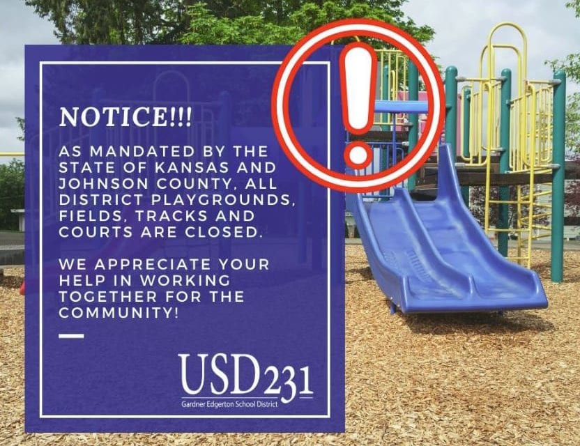 All school playgrounds are closed
