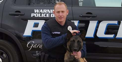 Run to raise funds for GPD's Zeus