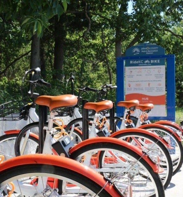 App needed to rent bikes in JCPRD parks