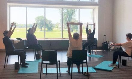 Chair yoga class for 50 plus begins Sept. 1