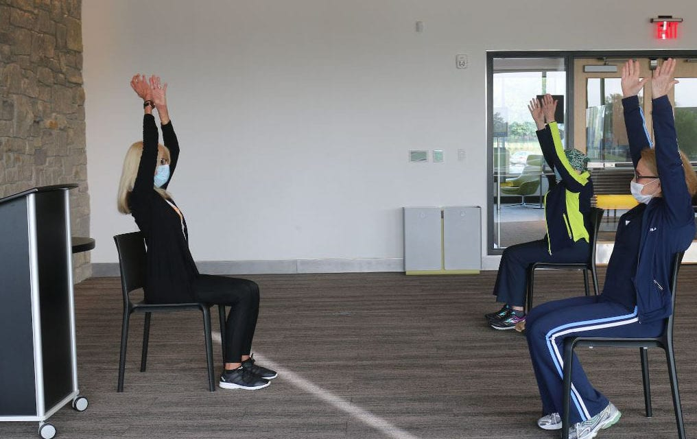 Chair yoga class for 50 plus begins Nov. 24
