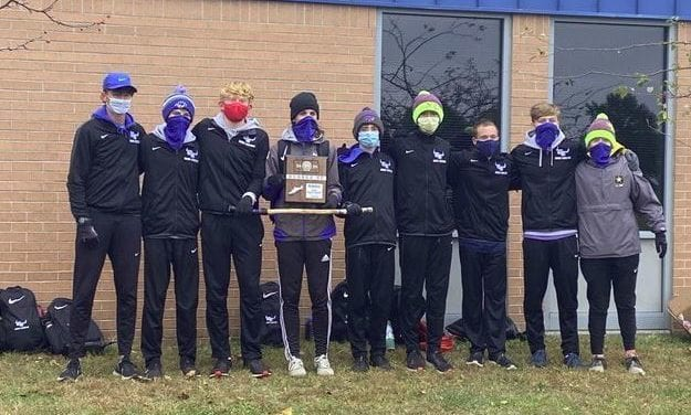 Blazer cross country team finishes second