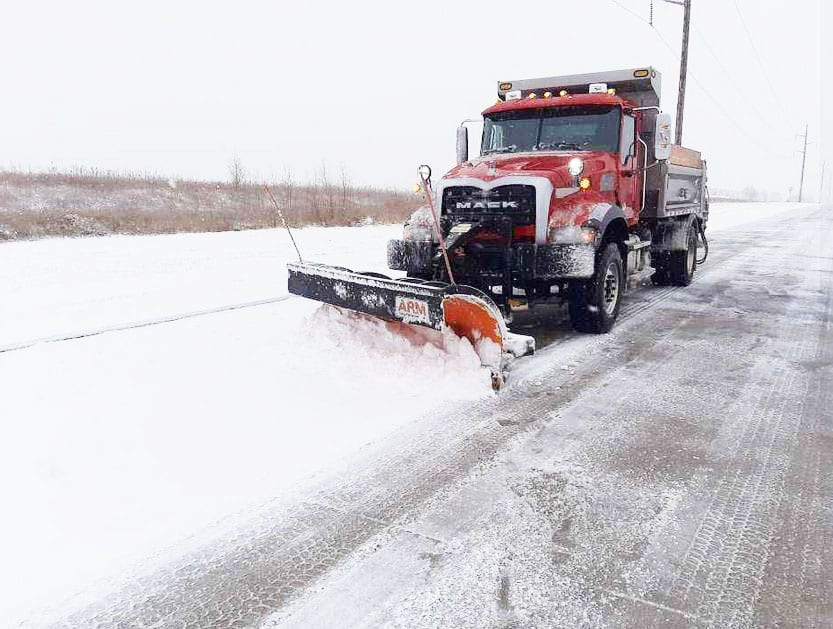 Winter storm keeps snow plows busy