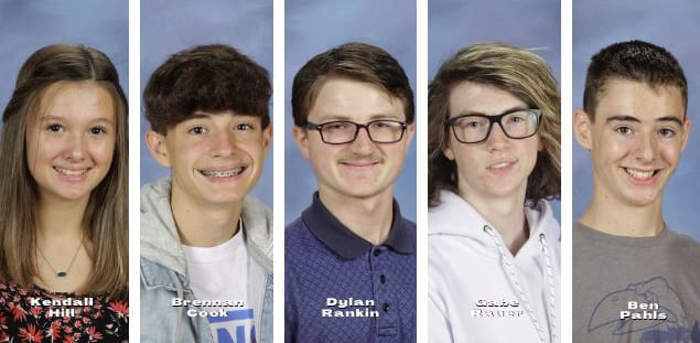 GEHS students recognized by the KSPA