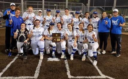 Trailblazers softball punches ticket to state with regional championship