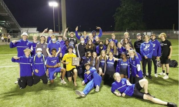Track, field athletes regional runners-up