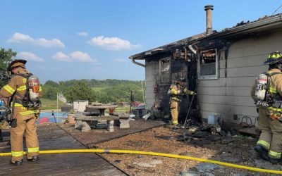 House fire reported on W. 143rd