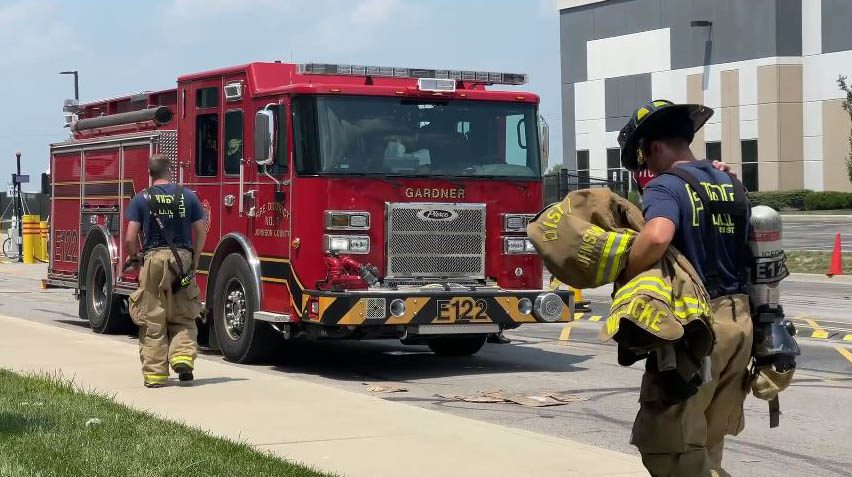 JCFD#1 responds to fire at intermodal