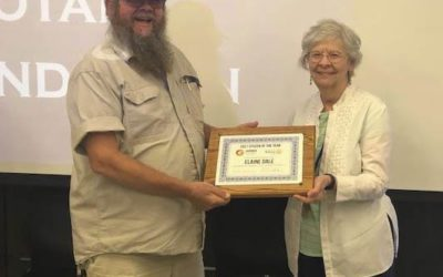 Dale honored for service