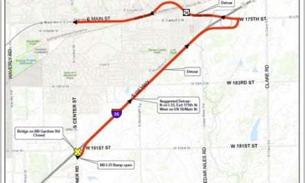 UPDATED: Gardner Road/I-35 project nears completion