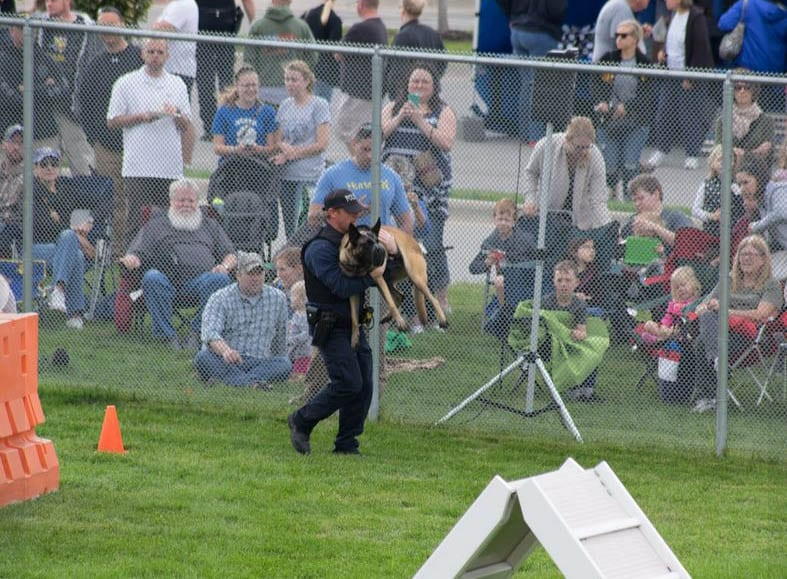 Gardner Police Department plans Law Dog run to build training course