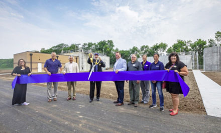 Water treatment plant officially opens