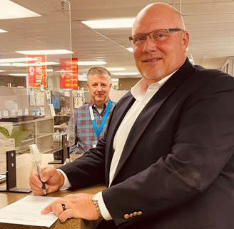Mike Brown officially files for county chair