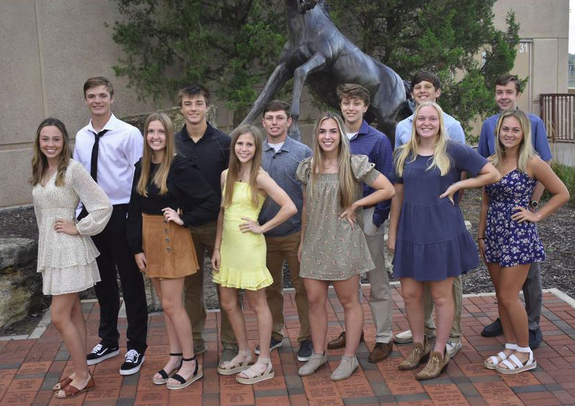 Spring Hill Homecoming Candidates